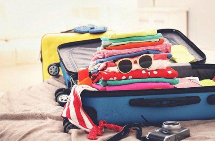 Ручки, внутренние отделения и карманы чемодана
